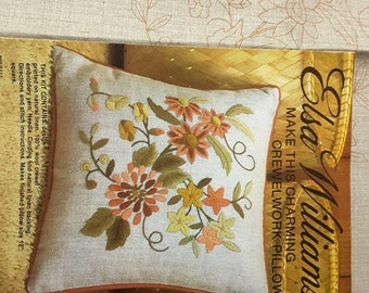 Another pretty floral pillow