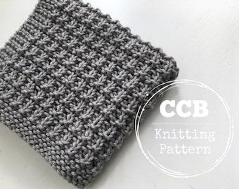 Washcloth / Dishcloth Knitting PATTERN - Summer Grille