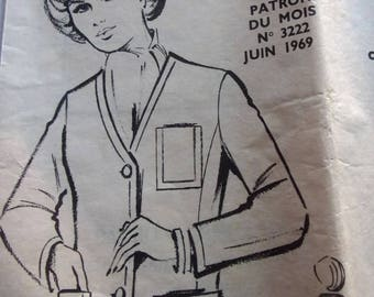 vintage FASHIONS and work BLAZER wife June 1969 sewing pattern