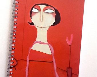 Notebook A5 Mrs. Wosniak blank sketchbook notebook
