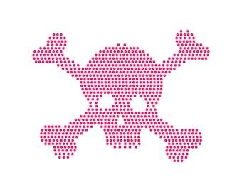 Digi-tizers Skull Rhinestone Pattern (SVG Studio V3 JPG)