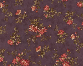 Moda ATELIER Quilt Fabric 1/2 Yard By 3 Sisters - Mauve 44053 14