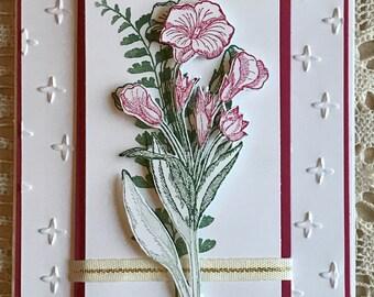 Blank Card - Floral