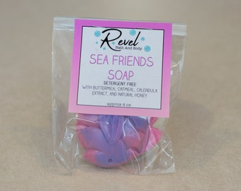 Sea Friends Soap | Kid's Soap