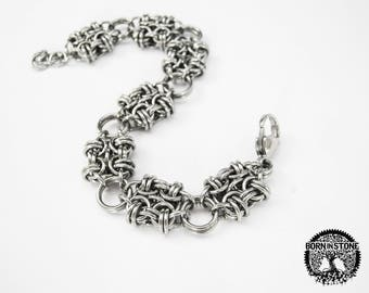 Chainmaille bracelet Womens chainmaille bracelet Steampunk bracelet Mens bracelet Womens bracelet Best gift For him For her Love gift