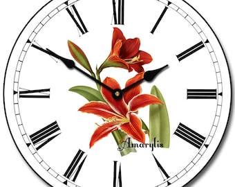 Amarylis Wall Clock