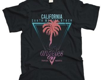 Santa Monica Beach Palms T-shirt