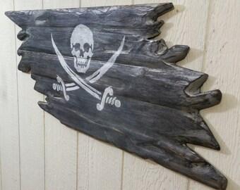 The Dread Pirate Wall Flag