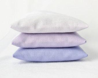 Ombre Purple Lavendar Sachets for Lavender Wedding, Unique Bridesmaid Gift, Pantone Ultra Violet