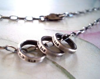 Curio Charm Necklace // Personalized in Sterling Silver