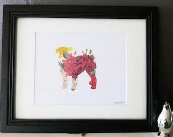 Fleur de Pug - Carlin Silhouette Cut-Out