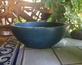 Coastal Living - Blue Concrete Bowl - Kitchen Favorite