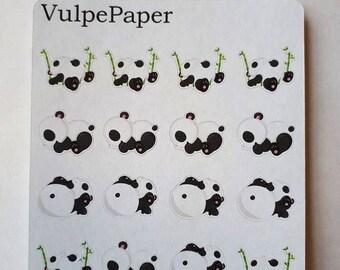 Nap Time Pandas Erin Condren Stickers
