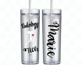 Radiology tech tumbler, xray tech gift, Radiology Tech Gifts, Radiology, Radiologist, radiologic technologist, radiology gifts, radiologist