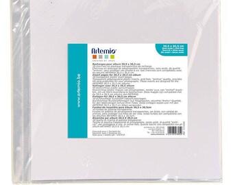 Plastic bags x 10 Scrapbook 30.5 x 30.5 cm - Ref 11010035 - until the stock!