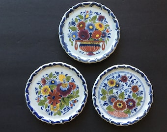 3 Vintage Plate OUD DELFT