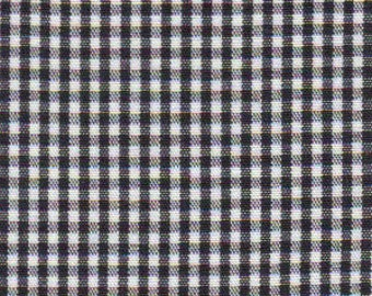 High Quality Fabric Finders Black Gingham