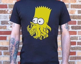 Barthulhu (Bart Simpson / Cthulhu) Men's T-Shirt