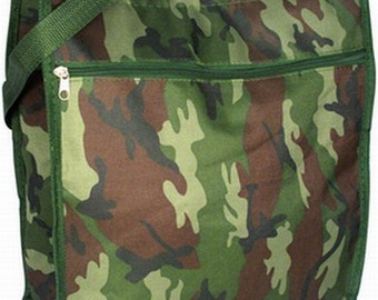 Monogram Personalized Camo Tote Bags Men   Boys Carry-all Bag   Custom Name Camouflage Bag   Travel Hunter Bag   Camouflaged Fishing Bags