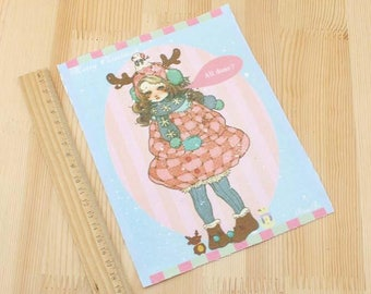 Coupon Stoff Patchwork winter
