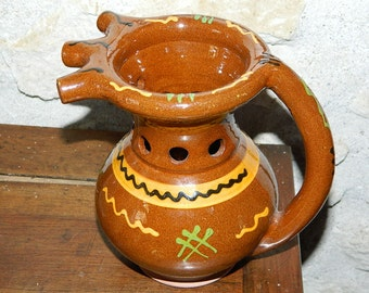 for flowers or DECO clay pot cooked. vase