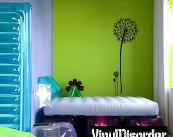 Dandelion Vinyl Wall Decal Or Car Sticker - Mv005ET