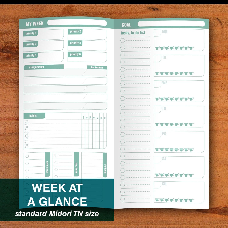 week tracker