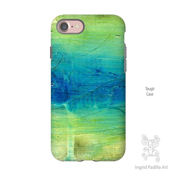 Blue Abstract Art, Blue iPhone case, iPhone 7 Case, iphone 8 case, iphone 7 plus case, iPhone 5S case, iPhone 8 plus case, Galaxy S7 Case