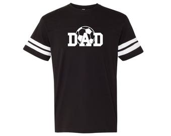 Volleyball Dad 4J Shirt. LAT - Adult Football Fine Tee - 6937. New Dad Shirt. Fathers Day Shirt.