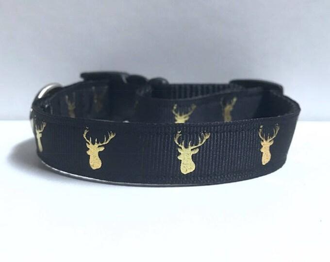 """5/8"""" Gold Foil Deer Collar"""