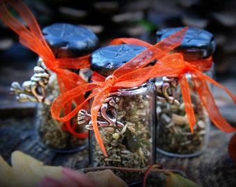 Samhain Witch Bottles