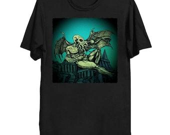 The Call of Cthulhu - Cthulhu Shirt HP Lovecraft T-Shirt Cthulhu Tee Call of Cthulhu Great Old One Shirt