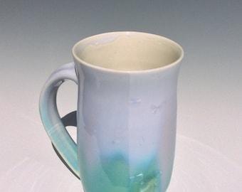 Lavender and Green Mug