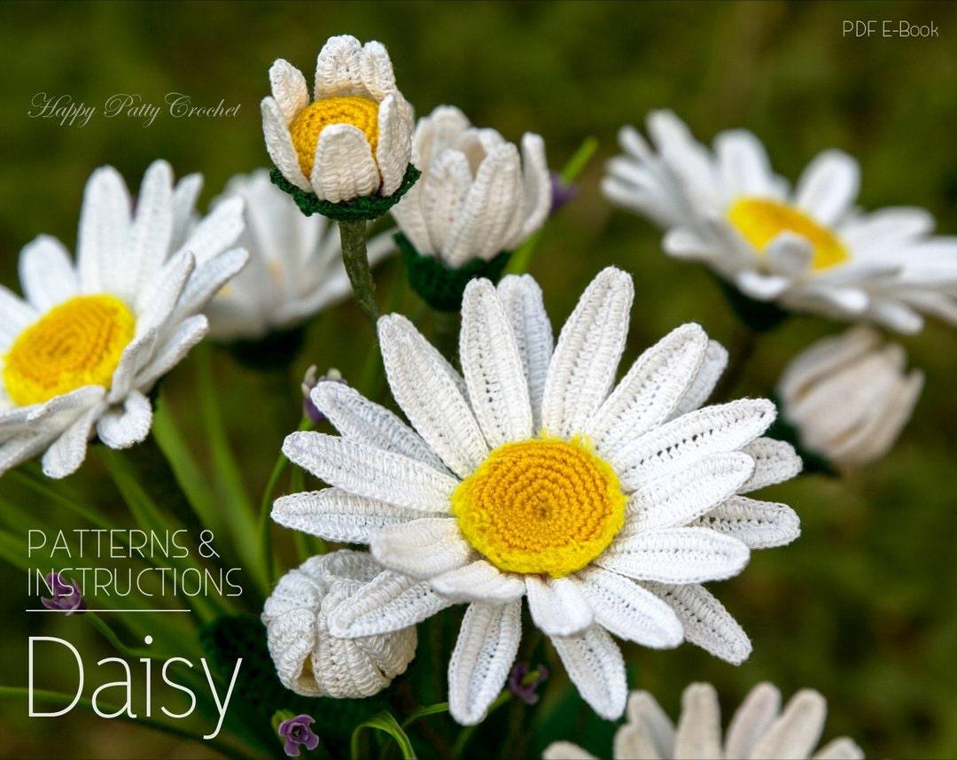 Crochet daisy pattern crochet shasta daisy pattern crochet zoom izmirmasajfo