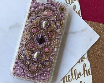 iPhone 7 plus case purple iPhone 6 plus case phone case chic phone case samsung cell phone case iphone handmade