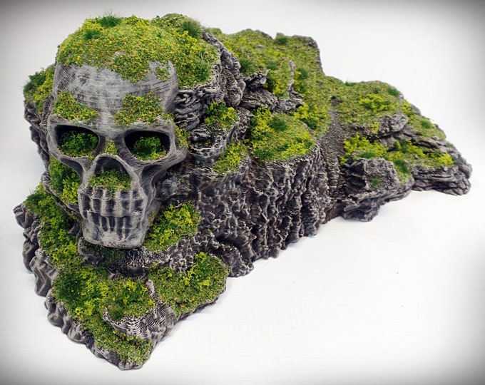 Wargame Terrain - Heathcliff UNPAINTED terrain kit – Miniature Wargaming & RPG rock formation terrain