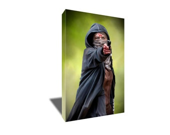 FREE SHIPPING The Walking Dead's Badass Carol Canvas Art