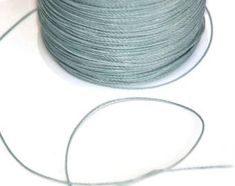 5 m thread gray 0.5 mm polyester cord