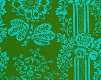 Happy Land in Candice Green designed by Jennifer Paganelli for Free Spirit Fabrics - 4.25 Yards - Great Price