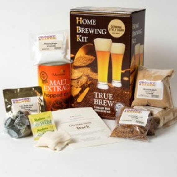 Home Brewed Craft Beer Making Kit By True Brew- German Style Light - Makes 5 Gallons