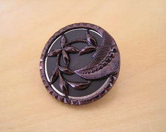 Picture button antique (Plantlife)
