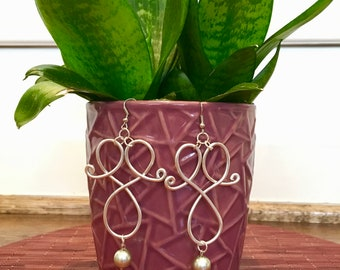 CHIC Aluminum Wire Earrings