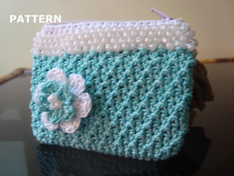 Crochet purse pattern crochet beaded coin purse pattern zoom bankloansurffo Gallery