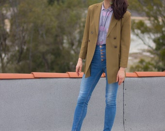 Tailored Blazer, Summer Jacket, Tailored Jacket, Evening Coat, Spring Jacket, Summer Jacket Women, Tailored Green Blazer, Trending Now