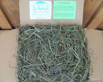 3 lb - 2nd Cutting Pet Hay!  PREMIUM Timothy/Orchard Grass/Clover HAY for Rabbits, Guinea Pigs, Chinchillas, Gerbils, Hamsters, Tortoise