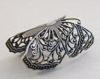 Balance,Butterfly,Ring,Silver,Butterfly Ring,Antique Ring,Silver Ring,Wing,Wings,Knuckle,Woodland,Wedding,Bridesmaidby valleygirldesigns.