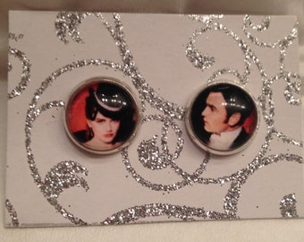 Moulin Rouge Inspired Christian and Satine Earrings!
