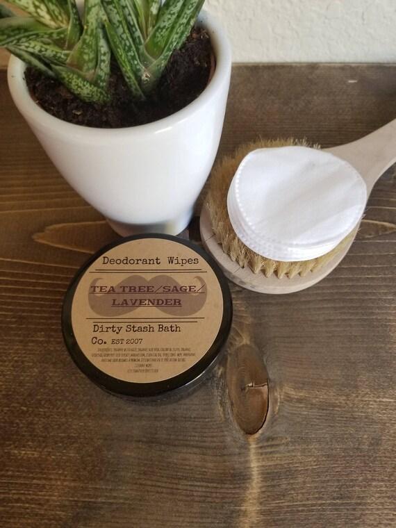 Organic Deodorant Wipes-Refresh On The Go-Geranium/Vanilla