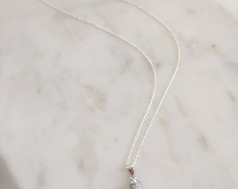 Claw Pendant with Chain