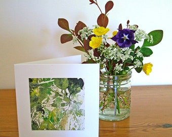 Original print inspired by the countryside suitable for framing or as a greetings card